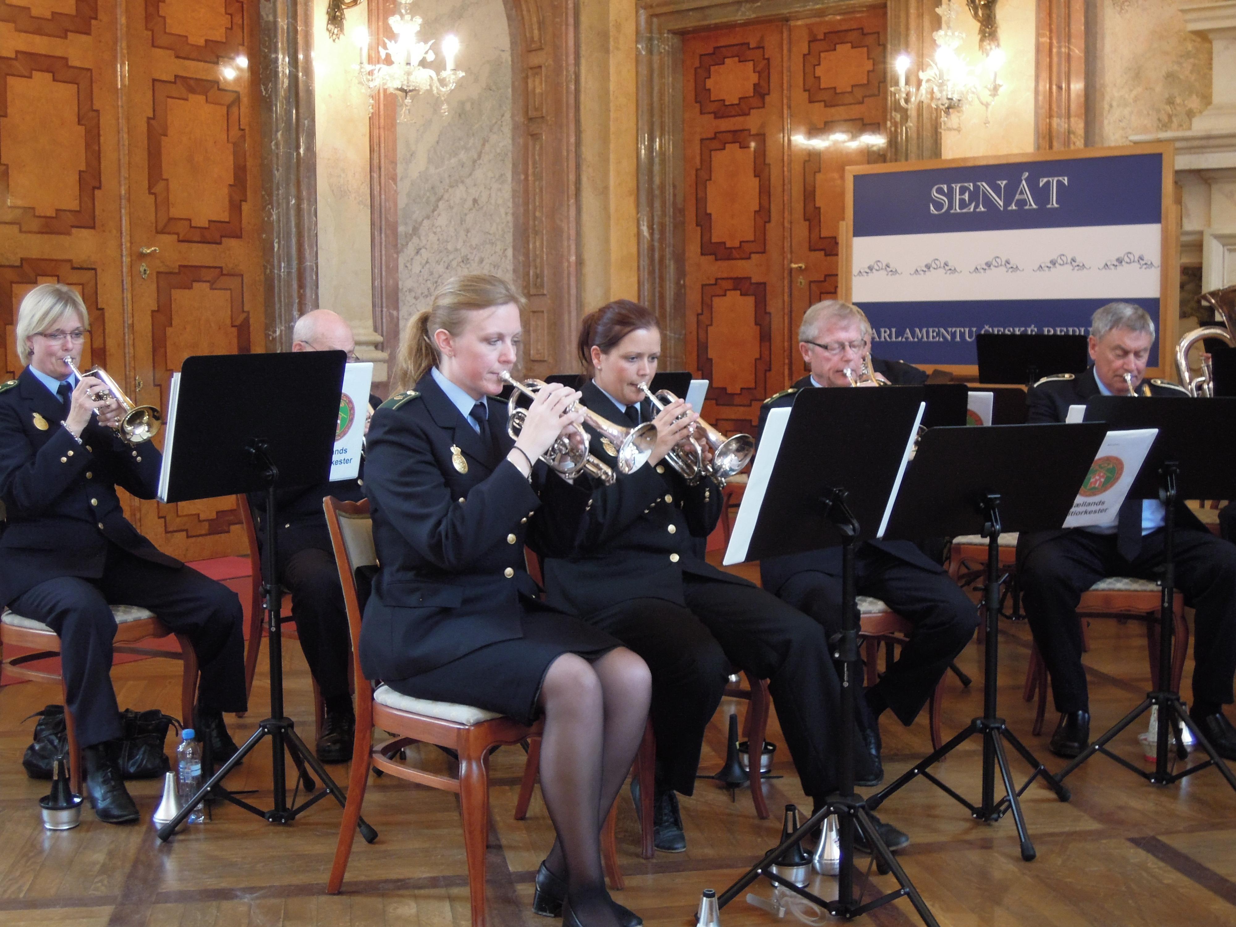 Slotskoncert i Prag